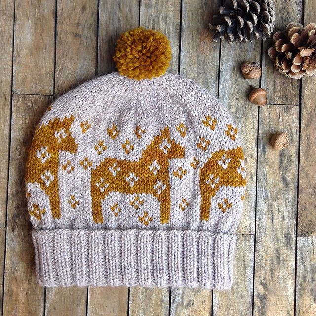 363 best Knit Hats - Fair Isles/Stranded images on Pinterest ...