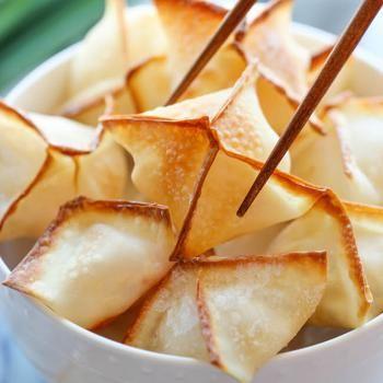 Baked Cream Cheese Wontons Recipe - Damn Delicious & ZipList