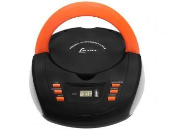 Rádio Portátil AM/FM 20 Faixas c/ Entrada Auxiliar - CD Player - Lenoxx BD 125