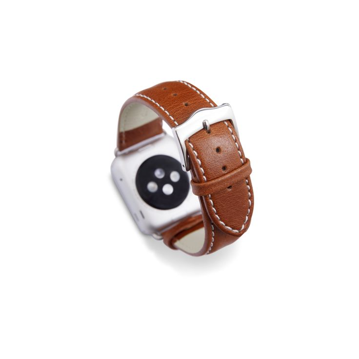 Made from supple full-grain Leather, each strap is individually produced and feature traditional metal buckle and lugs. Classic design with stand-out style.