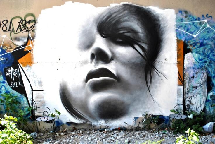 JahwaN Street Artist ! Aérosol art !
