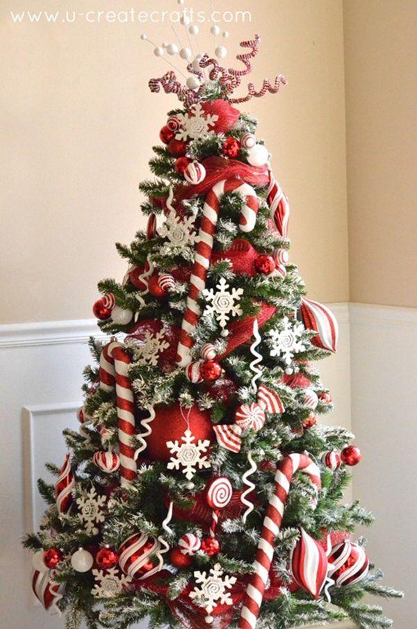 Christmas tree decoration ideas 2016 – 2017 http://comoorganizarlacasa.com/en/christmas-tree-decoration-ideas-2016-2017