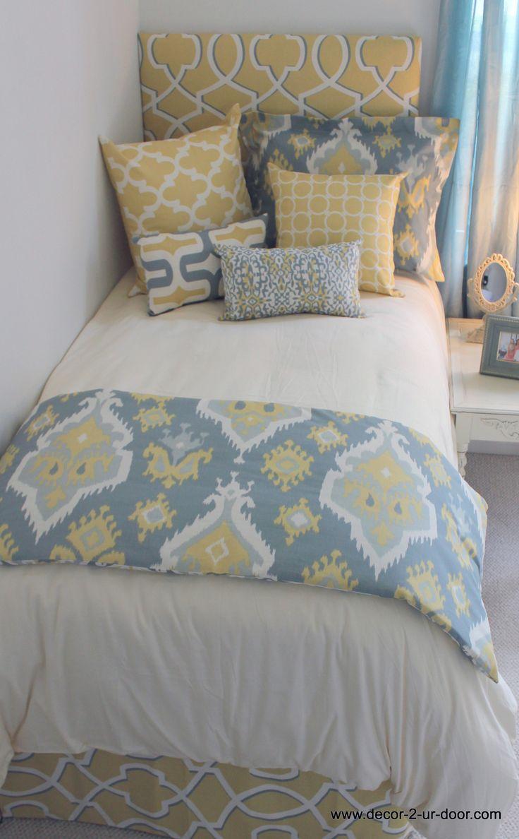 Bedste 10 blå gule soveværelsesidéer på Pinterest-1745