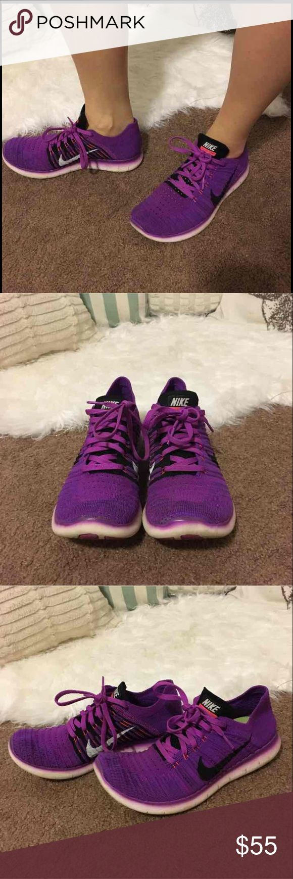 Nike Free Run Super light weight. Wore for once race. Basically brand new. Size 8. Nike Shoes Athletic Shoes