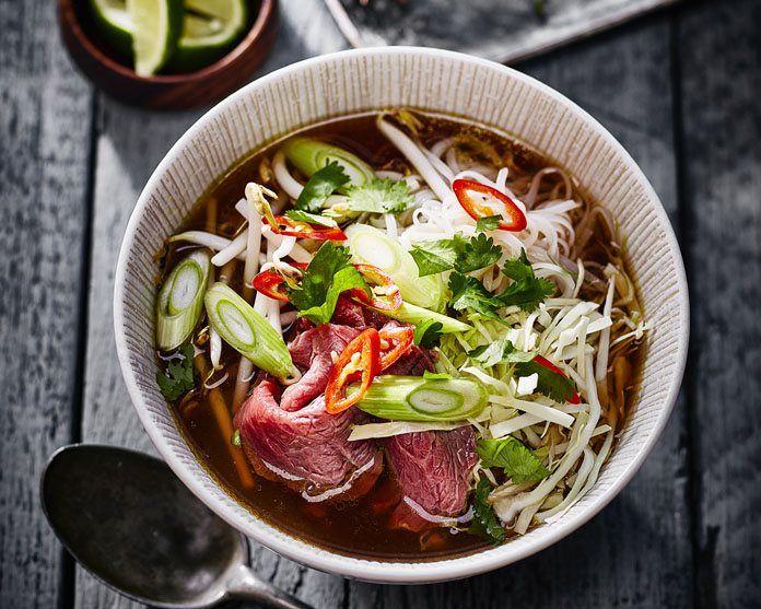 Pho Bo – Vietnamese Noodle Soep Black recept