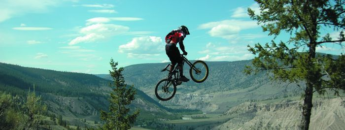 Williams lake BC bike trails
