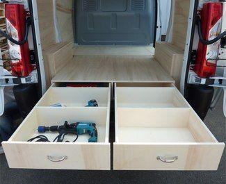 Aménagement d'utilitaire,aménagement fourgon,aménagement véhicule utilitaire,RENAULT TRAFIC. Plus de 70 kits à partir de 449€ sur la boutique en ligne Kit Utilitaire.