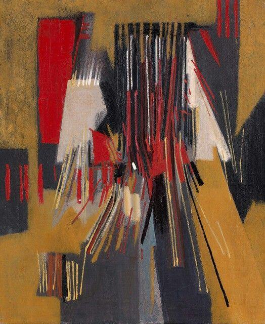 Huguette Arthur Bertrand - Composition Abstraite 1957