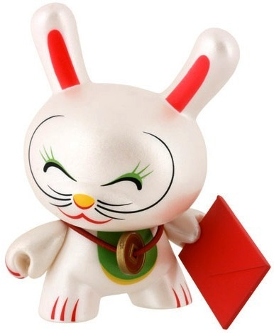Fortune Cat by Mr. Shane Jessup from Dunny Series 4