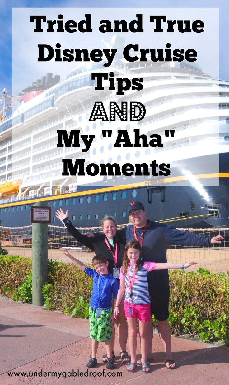 "There are a ton of Disney Cruise tips out there.  Come check out the ones that I think are tried and true as well as my ""aha"" moments"