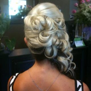 Wedding up-do.. By Joslyn @ moxie salon