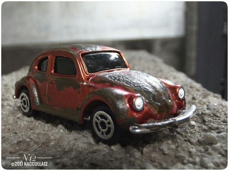 Diecast VW 1300 scale 1:64 Maisto