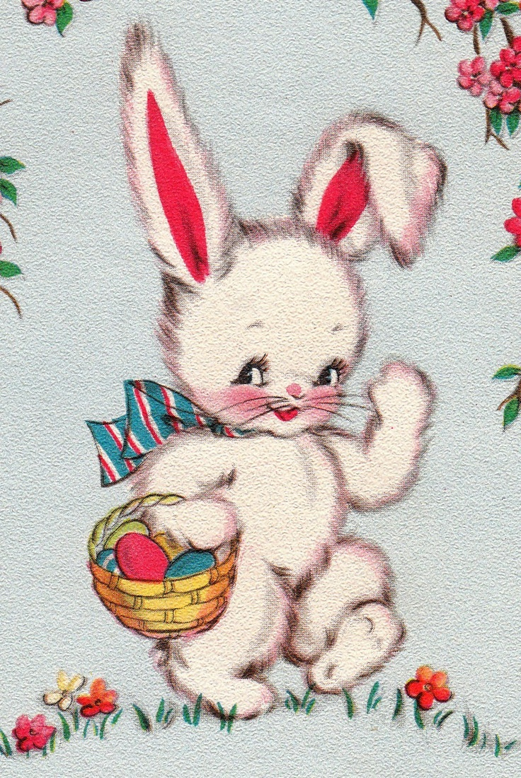 vintage easter bunny - photo #12