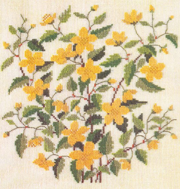 Gallery.ru / Фото #47 - Flowers and Berries in Cross Stitch - Mosca