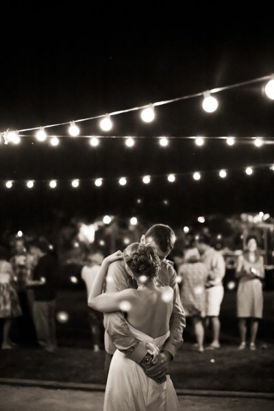 we'll slow dance at an old-fashioned outdoor ball