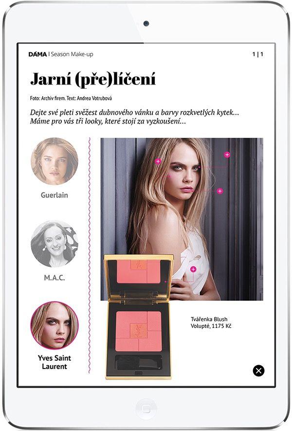 Free tablet magazine DÁMA Časopis si můžete stáhnout zdarma na: ➸ App Store: https://itunes.apple.com/us/app/dama-luxury-magazine-elektronicka/id932005821?mt=8 ➸ Google Play: https://play.google.com/store/apps/details?id=cz.triobo.reader.android.dama2
