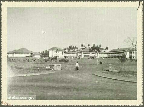H.B.S. Oei Tiong Hamweg Semarang sebelum tahun 1950.