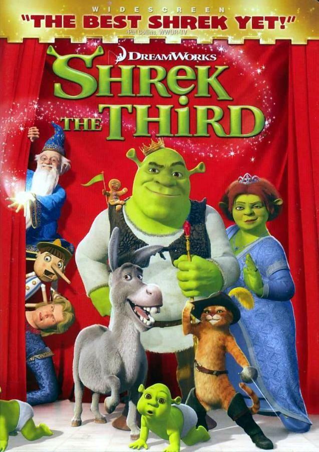 Shrek The Third (2007) Mum's Magic Movie Night. Pinterest
