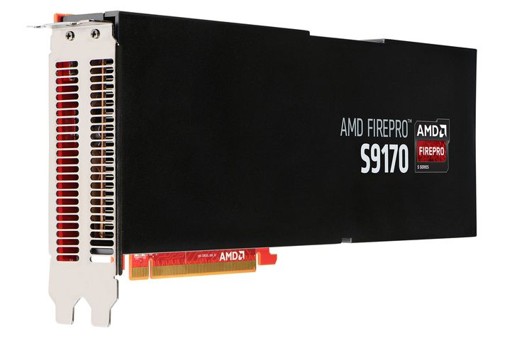 AMD kondigt FirePro S9170 videokaart aan met 32GB geheugen