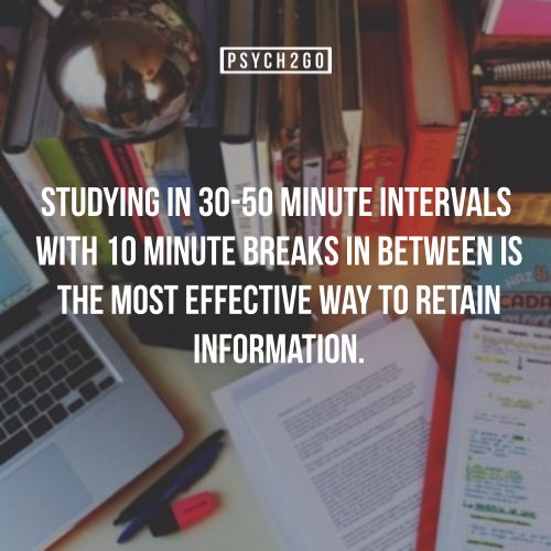 Did you know? Studying in segments is better than marathon study sessions. Use this technique to study better.