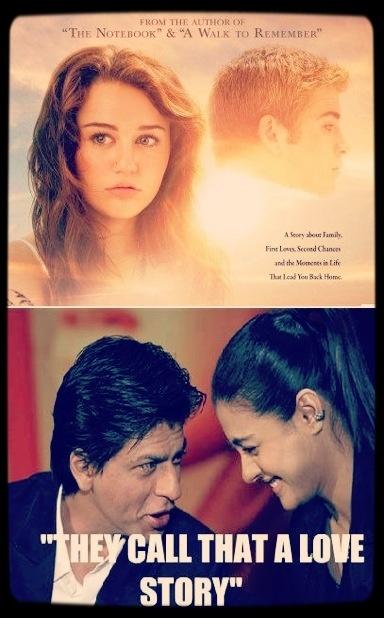 So true!! No romance movie can beat Kajol and Shahrukh Khan!!