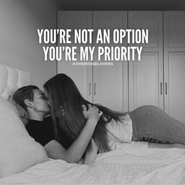 You Are My Priority........ Priority...... and Priority!