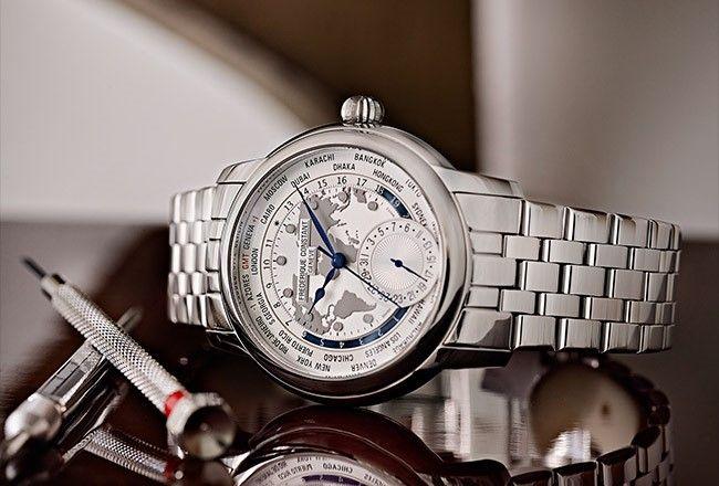 Sneak preview Basel 2014 Frederique Constant The Classics Manufacture Worldtimer bij Alexander Juwelier