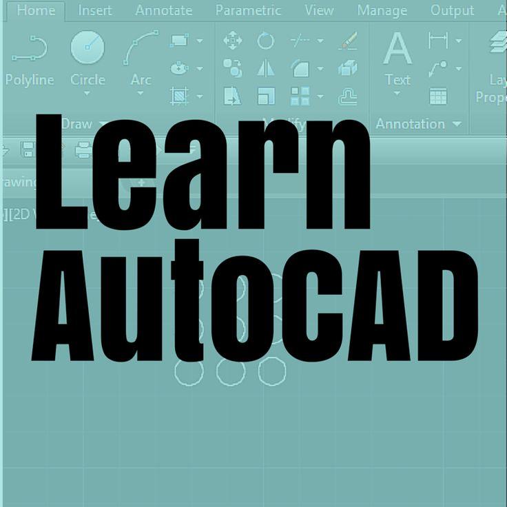 Learn AutoCAD basics in 21 DAYS - Tutorial45