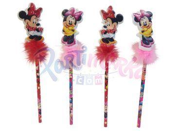 Minnie Mouse Hediyelik Süslü Kalemler 3 Adet