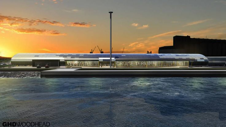 Daily Top Story:Newcastle cruise terminal design revealed