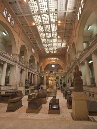Egyptian Museum, Cairo, Egypt, North Africa - Africa
