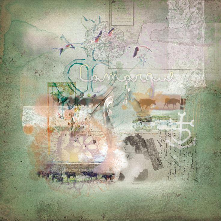 Peintures numériques Customisées: La Camargue - Toril d'Artistes