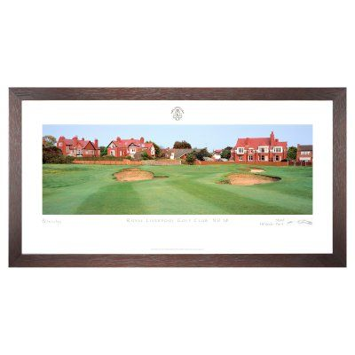 Stonehouse Framed Prestige Edition Wall Art -- Famous Golf Courses - RLIVR18P