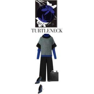 Layer with turtlenecks