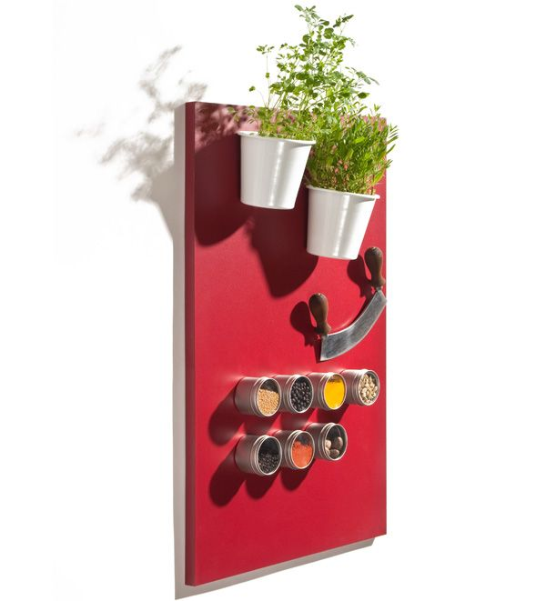 Pared magnética para colocar los utensilios de cocina | #paratorpes #gadgets #cocina