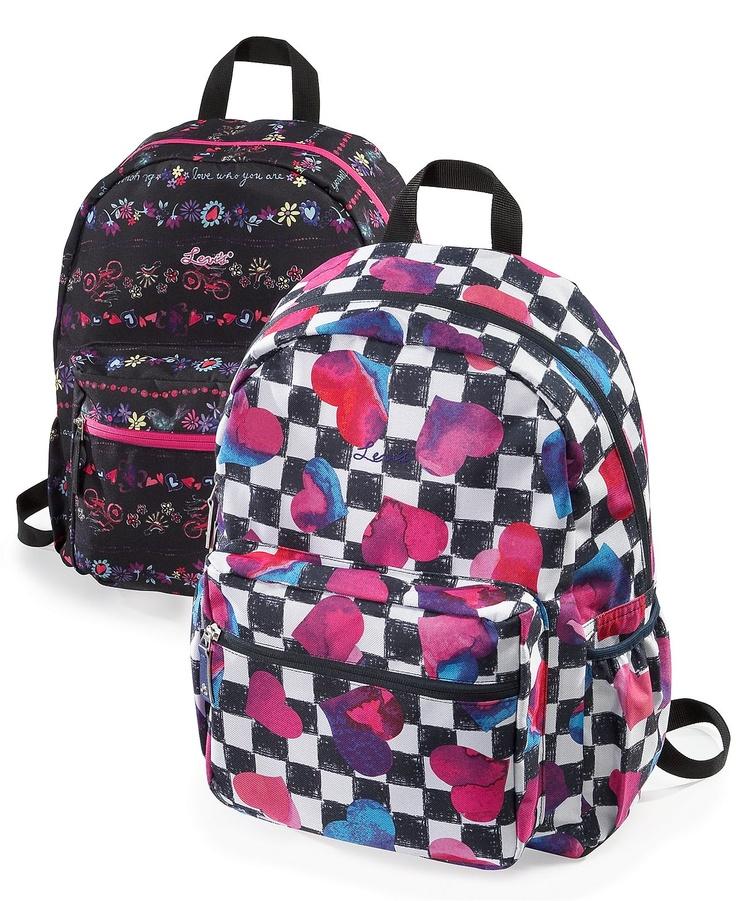 Gotta have a backpack for school.  Levis Multiplex Backpacks - Kids Girls - Macy's $24.99