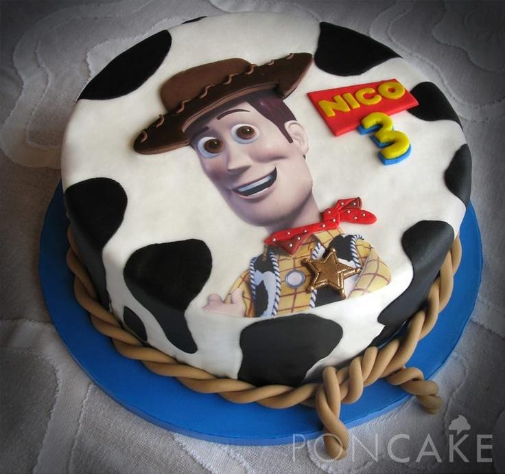 Woody Cake Toy Story Cake Torta De Woody Torta De