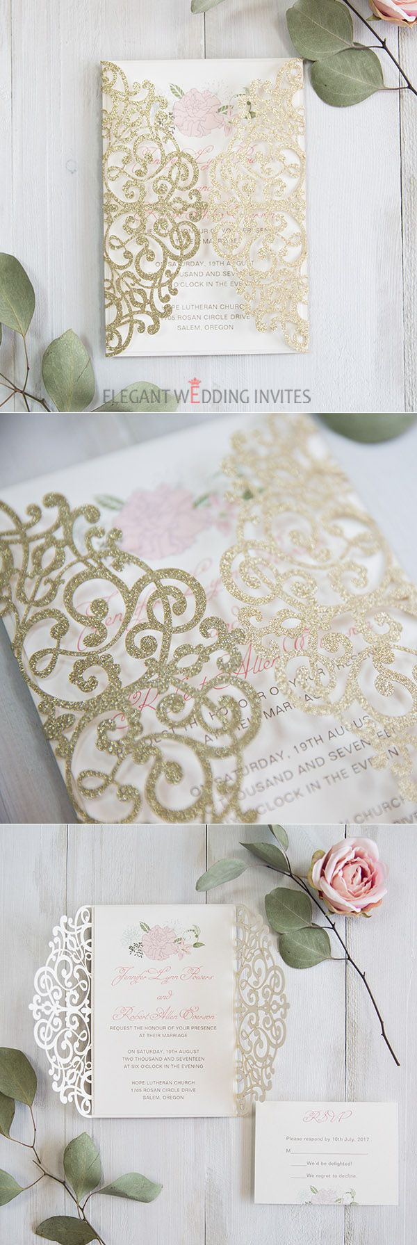 luxury pale gold and blush pink floral