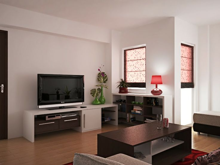 Living room renovation - project by interiordelight.ro. A light living room furniture project...