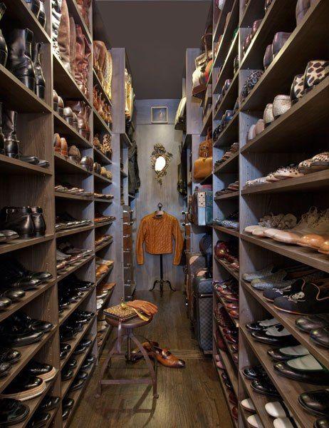 Mens Shoe Closet 173 best closets & dressing rooms images on pinterest | closet