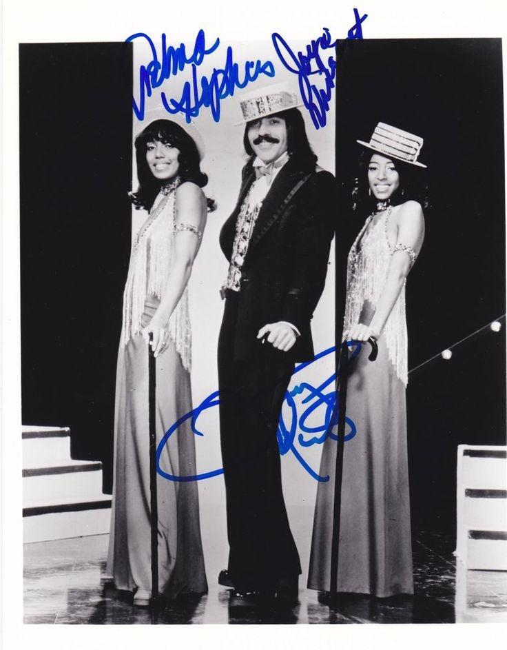 TONY ORLANDO AND DAWN TELMA HOPKINS JOYCE VINCENT SIGNED 8X10 PHOTO A PROOF  | eBay