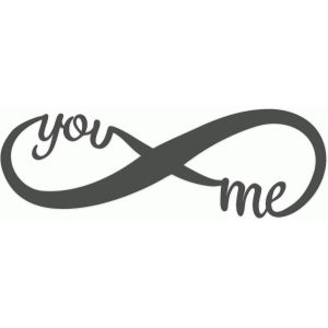 Silhouette Design Store - View Design #50847: you and me infinity