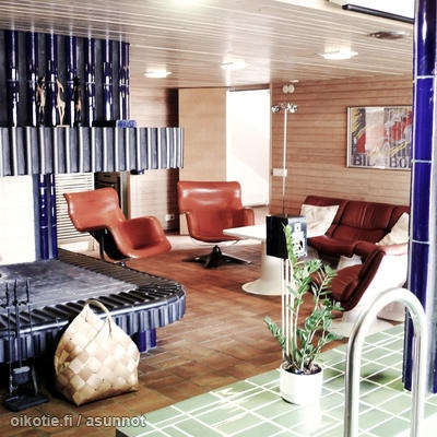Finnish Retro Style Living Room / Retro Olohuone