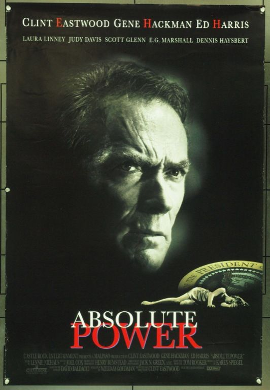 MovieArt Original Film Posters - ABSOLUTE POWER (1997) 19291, $30.00 (https://www.movieart.com/absolute-power-1997-19291/)