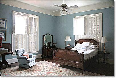 Bedroom Paint Colors Aqua Southern Colonial Aqua Blue