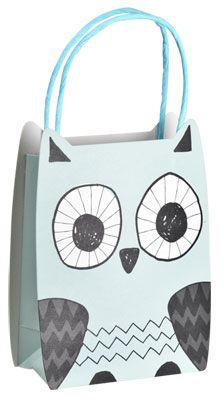 Gift bag (a/w 2013) #lagerhaus #owl #giftwrapping