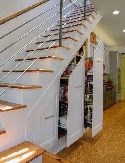 Las 25 mejores ideas sobre armario debajo de las escaleras - Armario bajo cama ...
