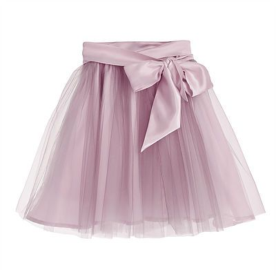 Fairytale Tulle Skirt with Satin Sash – Dusty Pink. Designed to create a dramatic silhouette, this extravagant tulle skirt with a sumptuous, detachable bow will be a favourite for all little girls. Outer: 100% Nylon. Lining and Trim: 100% Polyester. Gentle Dry Clean only.