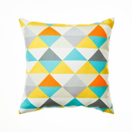 Cushions Pyramid Green Soft Furnishings http://www.adairs.com.au/soft-furnishings/cushions/home-republic/pyramid-green