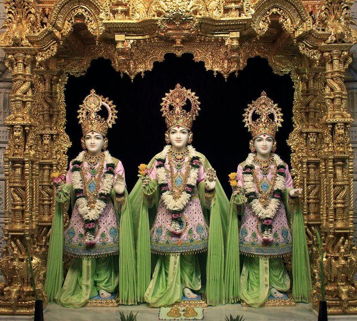 Daily Murti Darshan- Shri Swaminarayan Mandir, London